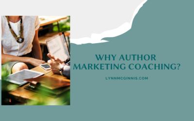 Why Author Marketing Coaching?